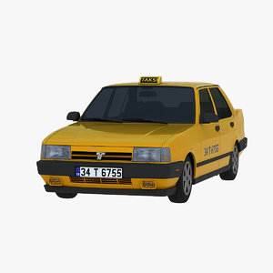 tofas dogan slx taxi 3D model