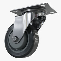 caster wheel 3D