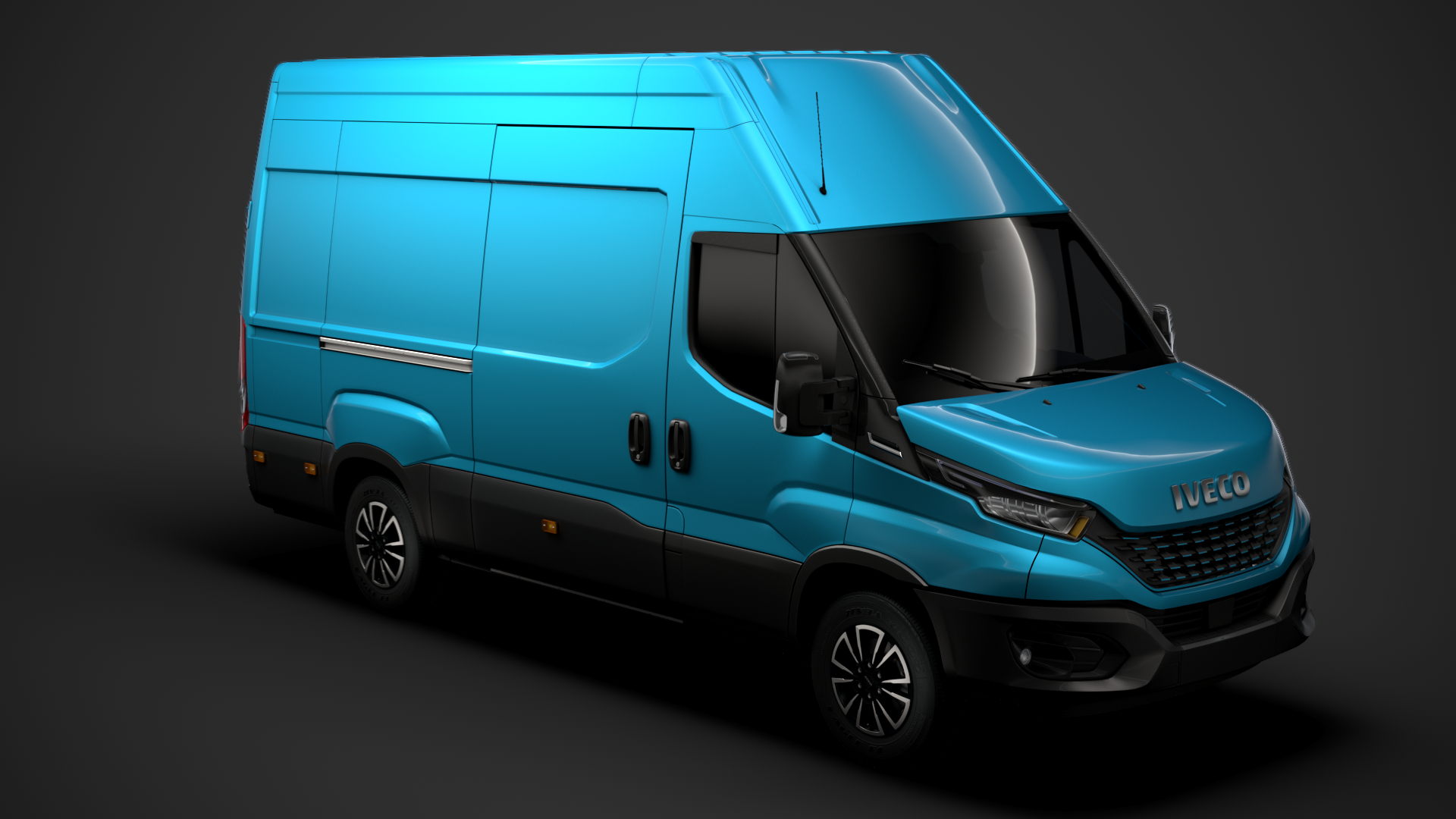 iveco daily blue power 3D model