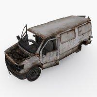 damaged car type 02 model
