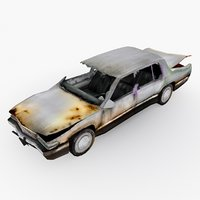 damaged car type 01 model