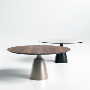 3D yoda table cattelan italia model