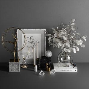 3D model decorative set 10