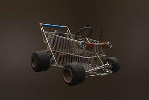 3D kart model