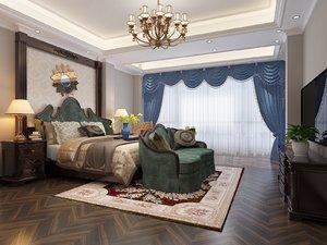 master bedroom european model