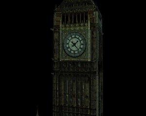 big ben building landmark 3D model