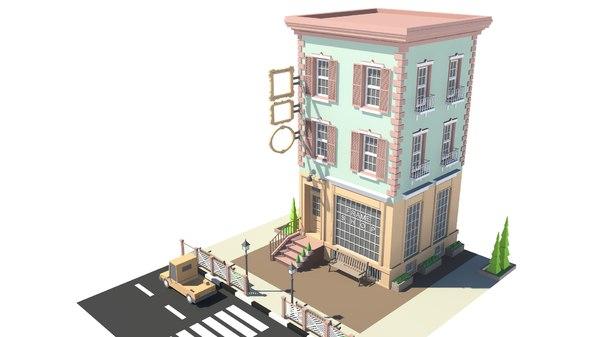 frameshop 01 3D model