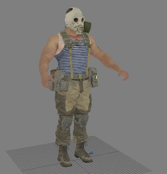 3D human character people