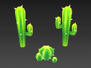 cactus 3D