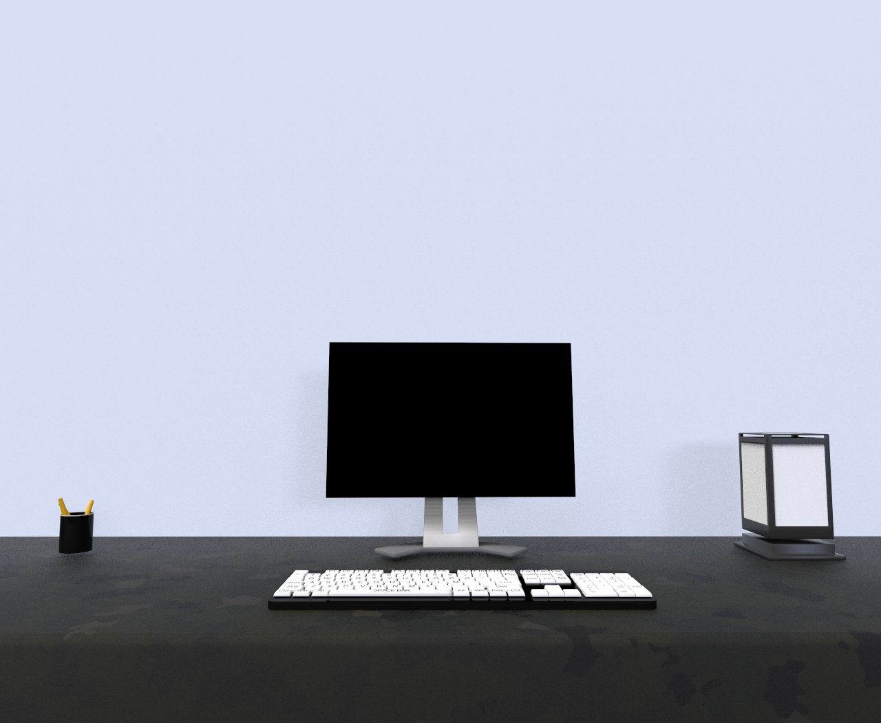 desktop keyboard 3D