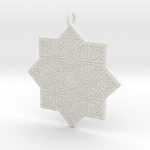 3D celtic knot pendant model
