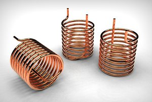 3D pipe coil