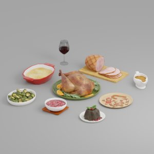 food holiday 3D