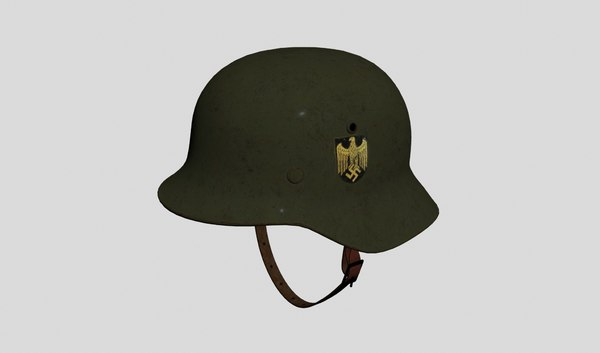 nazi helmet armor 3D model