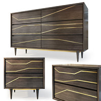 3D chest granjeno bedside table