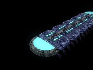 3D centipede robot centripedes