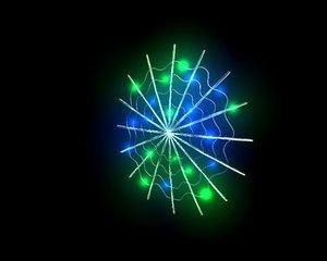 spider crawlebot cyberweb 3D model