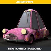 3D toon car model