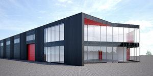logistics center 3D