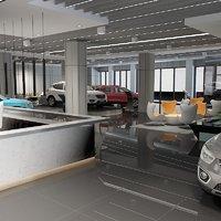 showroom 3 3D