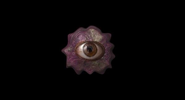 alien arachnipien slime 3D model