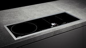 3D model gaggenau cooktop 200 ci290111