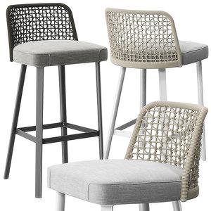3D emma stools varaschin model