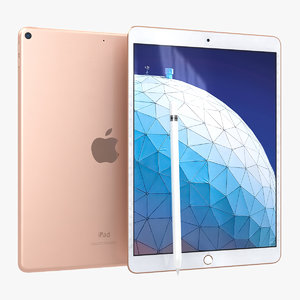 apple ipad air 2019 3D model