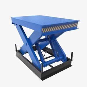 3D hydraulic lift platform