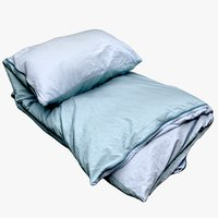 3D bedclothes bedding 10 model