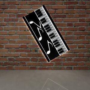 music piano 3D model