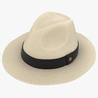 3D realistic havana hat