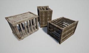 3D set cages model