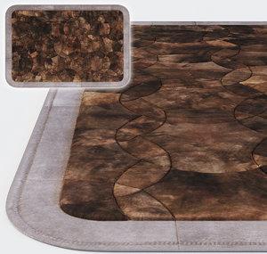 continental carpet 3d model