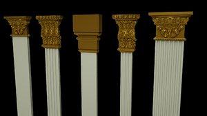 column architecture model