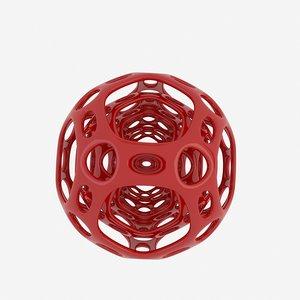modern sculpture 3D