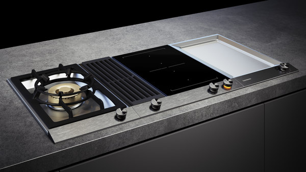 3D model gaggenau 200 cooktop vg231120f