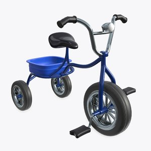 child bicycle cycle 3D model