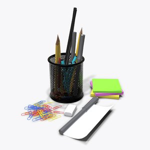 mesh pen 3D model