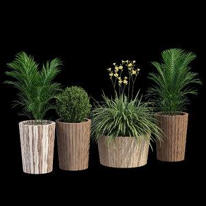 3D plant pot tennis