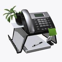 phone mesh holder 3D model