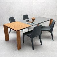 table twice bonaldo tip 3D model