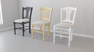 chair mobexpert vence 3D model