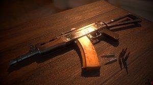 ak74u bullets model