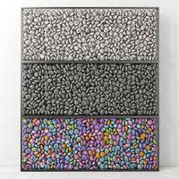 pebble gabion 3D