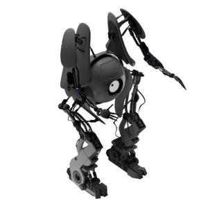 3D model character robot