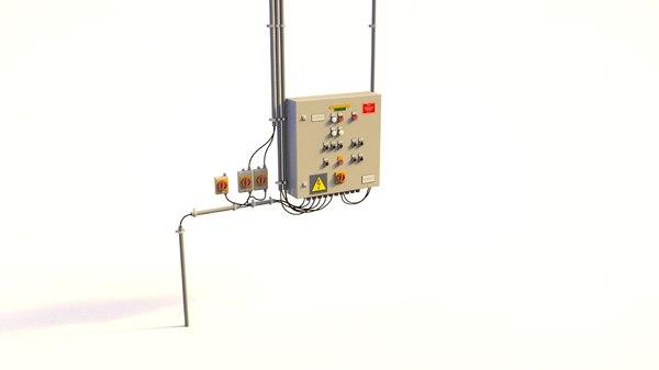 3D model control