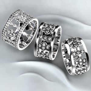 rings 3D