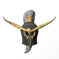 warden helmet warcraft model