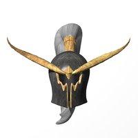 warden helmet warcraft model